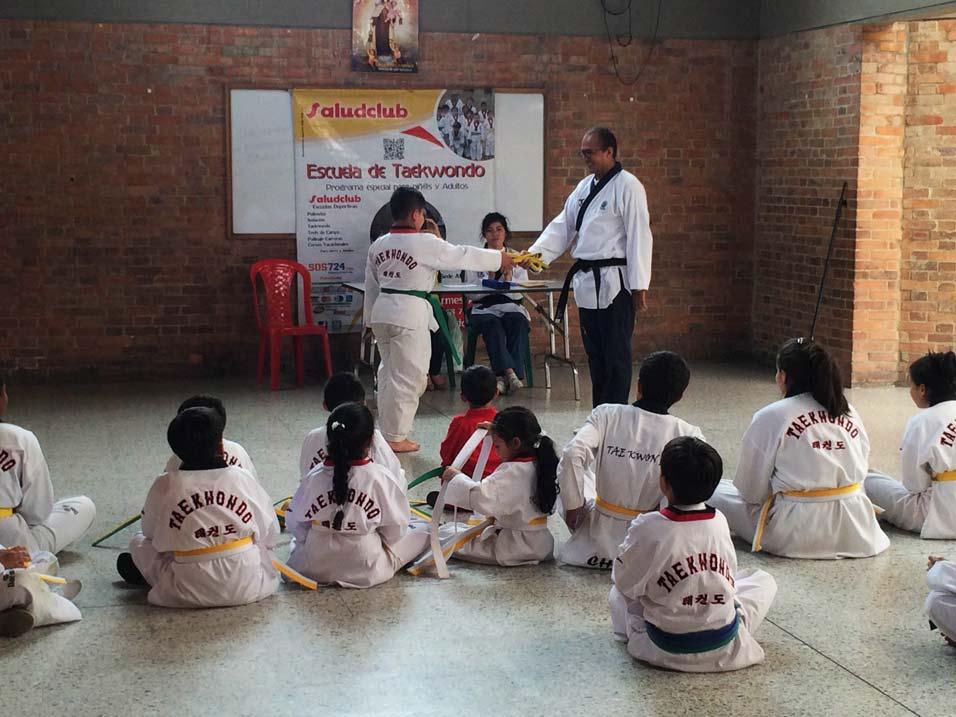 Cursos de Taekwondo para niños en Salitre,