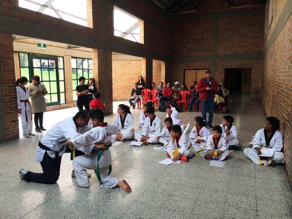Cursos de Taekwondo para niños en Salitre, Bogotá