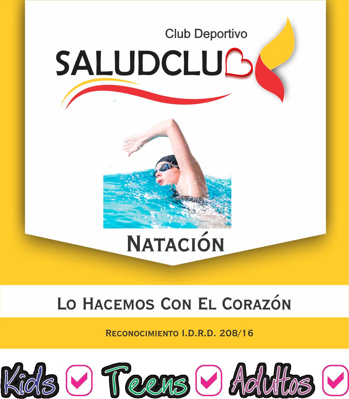 Natación saludclub 2018