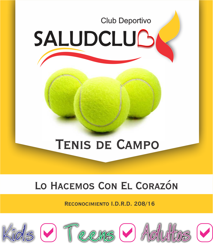 Tenis de campo saludclub 2018